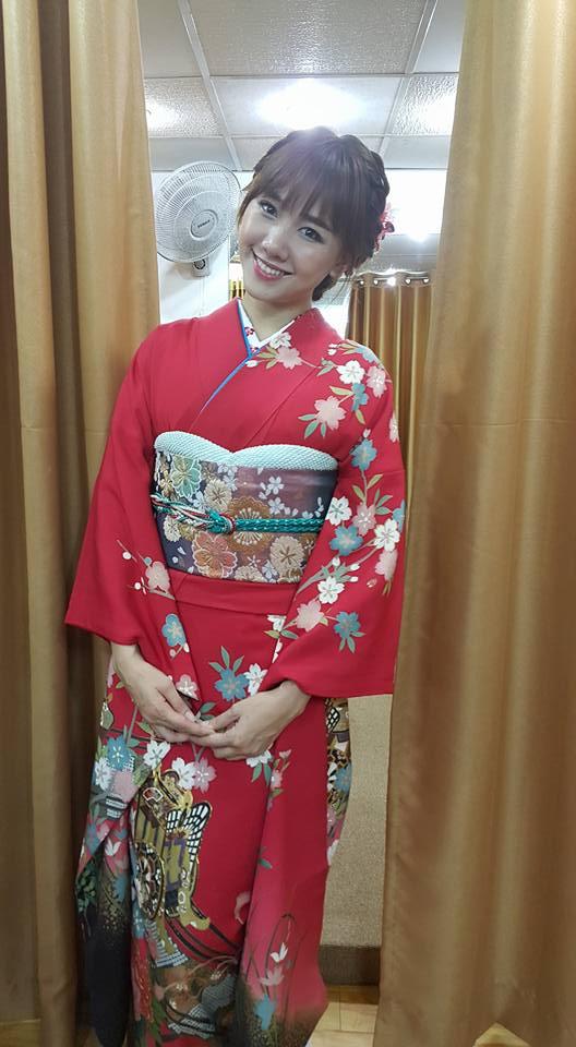 HH Mỹ Linh, Hari Won diện kimono đẹp tựa gái Nhật - 2