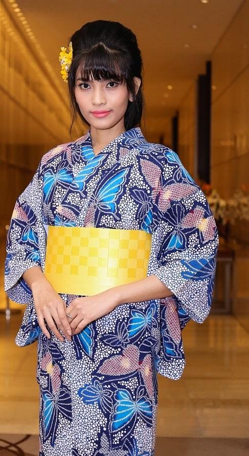 HH Mỹ Linh, Hari Won diện kimono đẹp tựa gái Nhật - 7