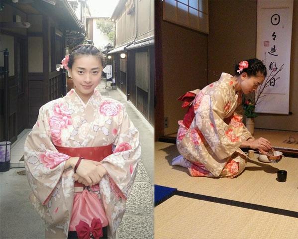 HH Mỹ Linh, Hari Won diện kimono đẹp tựa gái Nhật - 11
