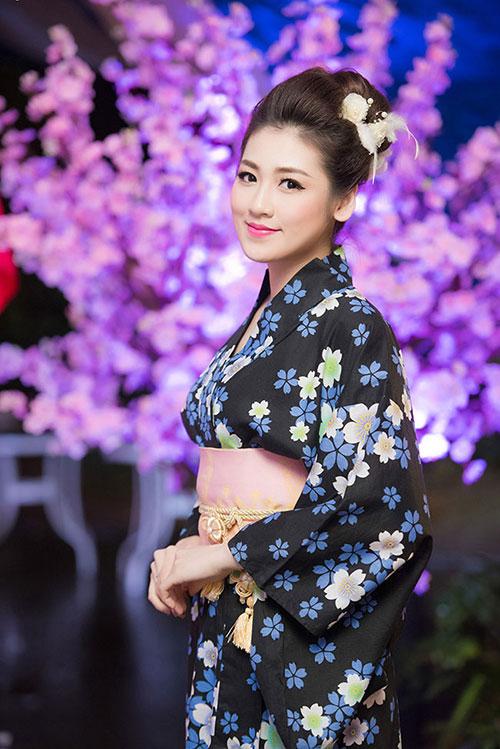 HH Mỹ Linh, Hari Won diện kimono đẹp tựa gái Nhật - 13