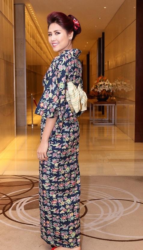 HH Mỹ Linh, Hari Won diện kimono đẹp tựa gái Nhật - 14