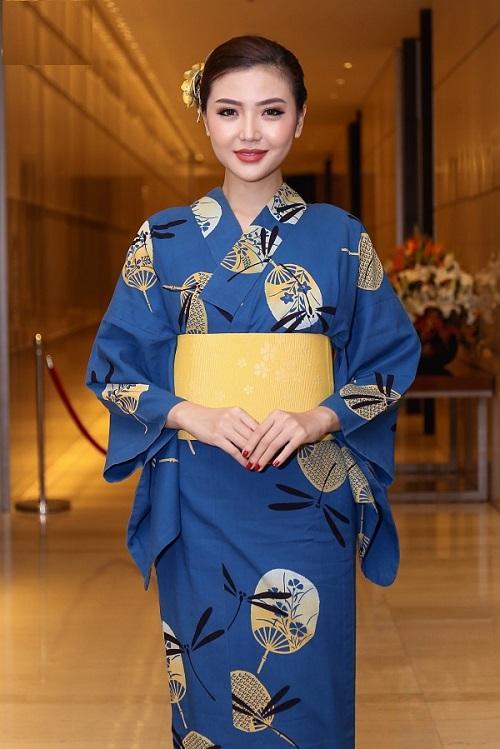 HH Mỹ Linh, Hari Won diện kimono đẹp tựa gái Nhật - 15