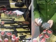 Lô súng hơi sát thương cao về Việt Nam bằng máy bay