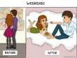 Truyện cười: Đau đầu nghĩ cách hâm nóng tình yêu vợ chồng