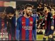 """Barca """"đổ đèo"""", Messi tức giận: Hỏng ngay từ nóc"""