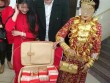 Sốc với vali 11 tỷ đồng trong lễ ăn hỏi của cô dâu TQ