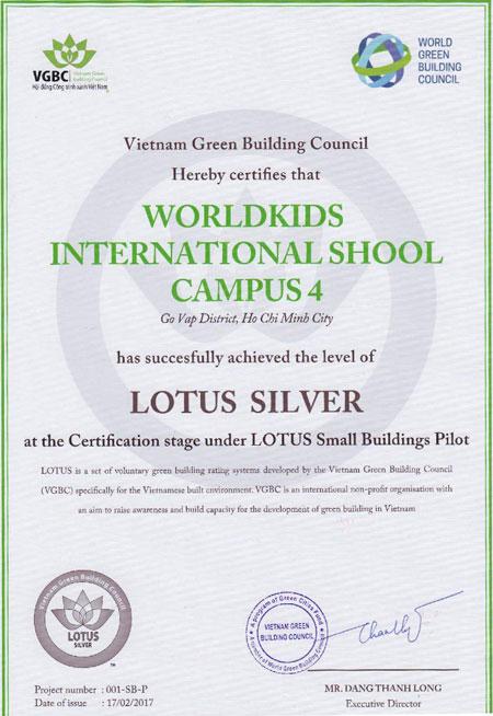Trường mầm non đầu tiên đạt chuẩn Công Trình Xanh tại Gò Vấp - 1