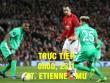 TRỰC TIẾP bóng đá St. Etienne - MU: Mourinho chưa thể bằng Sir Alex