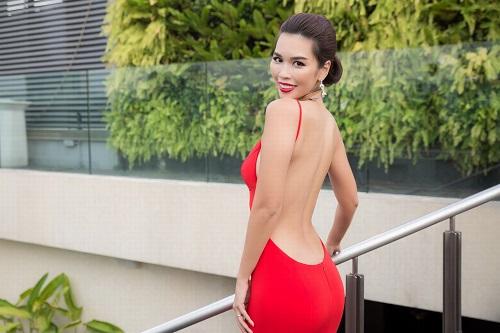 """Hà Anh """"rực lửa"""" lấn át cả Hoa hậu Toàn cầu 2016 - 3"""
