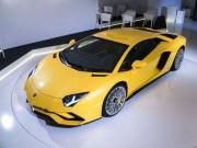 Ô tô - Lamborghini lần đầu 'nhá hàng' Aventador S