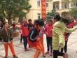 Vụ học sinh bị gãy chân: Tiếng cười trở lại sân trường