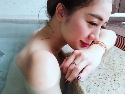 Khỏa thân trong tuyết, hot girl xứ Đài bị nghi ngờ chiêu trò - 3