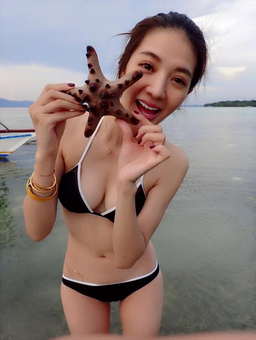 Khỏa thân trong tuyết, hot girl xứ Đài bị nghi ngờ chiêu trò - 7