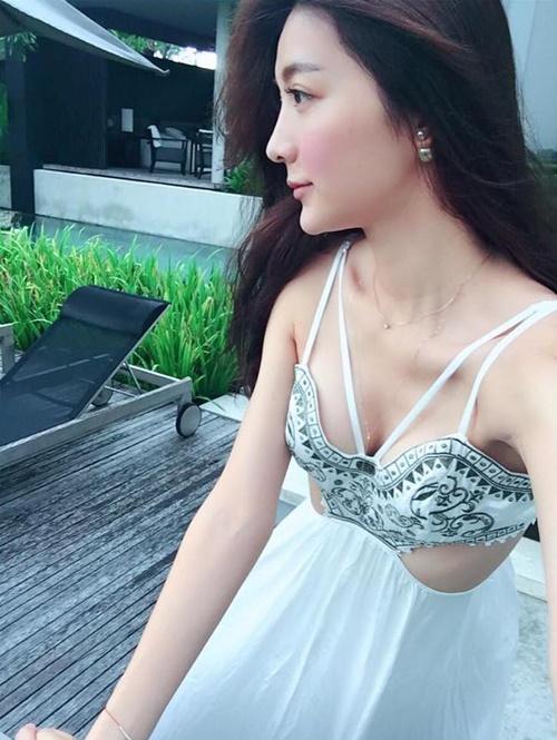 Khỏa thân trong tuyết, hot girl xứ Đài bị nghi ngờ chiêu trò - 8