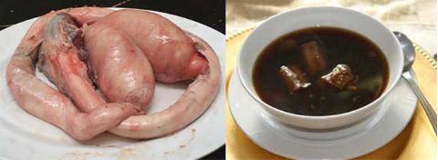 """Đỏ mặt trước những món ăn làm từ """"của quý"""" của động vật - 5"""