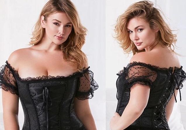 Mỹ nữ béo núng nính gây sốt với bodysuit, váy trong suốt - 8