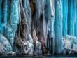 Thác nước đóng băng đẹp hiếm thấy ở Croatia