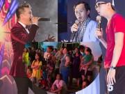 Ca nhạc - MTV - Người dân vây kín xem Hoài Linh, Trấn Thành hát đám cưới đại gia Cần Thơ