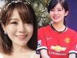 Hot girl Tú Linh khoe ảnh cưới khiến fan MU xôn xao
