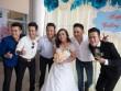 Dàn sao Việt hội ngộ ở Long An dự tiệc cưới DV Hoàng Anh