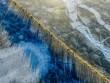 """Hàng nghìn con cừu """"hành quân"""" qua hồ băng đẹp mê hồn ở Tây Tạng"""