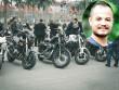 """200 chiếc mô tô """"siêu khủng"""" diễu hành tưởng nhớ  Trần Lập"""