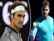 Tennis độc nhất: Federer cù nách Wawrinka