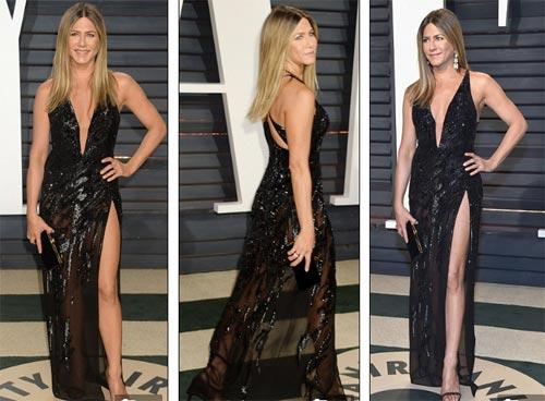 """""""Ngạt thở"""" vì vẻ đẹp phồn thực của mỹ nữ tại tiệc Oscar - 1"""