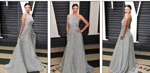 """""""Ngạt thở"""" vì vẻ đẹp phồn thực của mỹ nữ tại tiệc Oscar - 10"""
