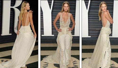 """""""Ngạt thở"""" vì vẻ đẹp phồn thực của mỹ nữ tại tiệc Oscar - 12"""