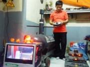 """Niềm đam mê chế tạo tàu ngầm không người lái của gã """"gàn"""" xứ Huế"""