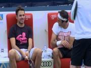 Thể thao - Tennis độc nhất: Federer cù nách Wawrinka