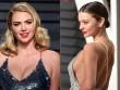 """""""Ngạt thở"""" vì vẻ đẹp phồn thực của mỹ nữ tại tiệc Oscar"""