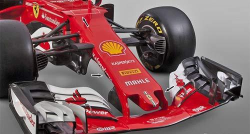 """F1, """"Ngựa chiến"""" 2017 Ferrari: Chỉ số 1, hoặc là số 0 - 1"""