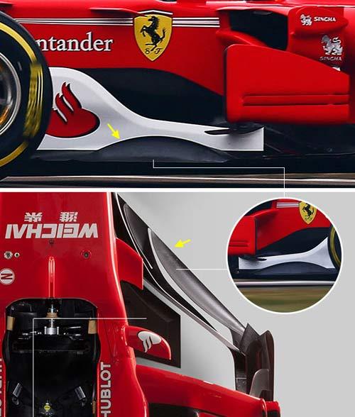 """F1, """"Ngựa chiến"""" 2017 Ferrari: Chỉ số 1, hoặc là số 0 - 2"""