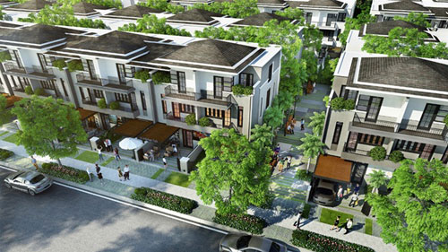 Xu hướng mua biệt thự phố vườn có thiết kế cảnh quan và kiến trúc đặc sắc - 1