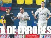 Bóng đá - Liga loạn vì trọng tài: Báo chí tố Barca bị xử ép so với Real
