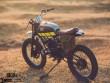 """Yamaha RX100 hóa thành """"cậu bé màu xanh"""""""