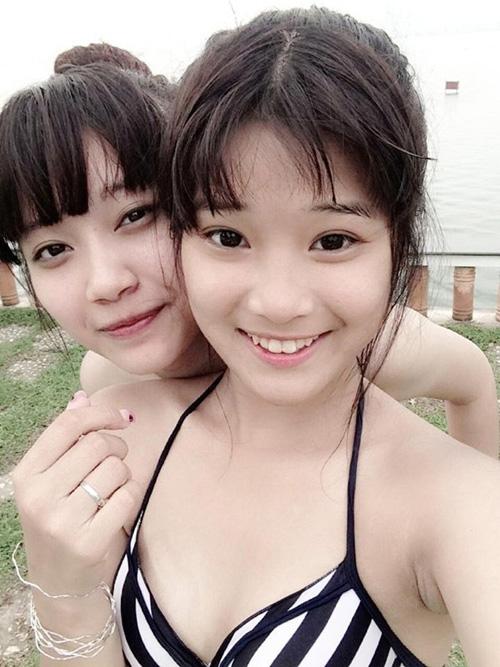 """Hoàng Yến Chibi đi bơi ngày càng """"bỏng mắt"""" - 2"""