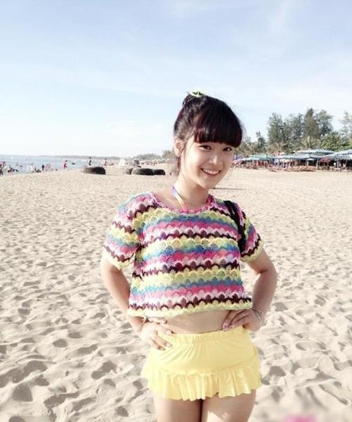 """Hoàng Yến Chibi đi bơi ngày càng """"bỏng mắt"""" - 3"""