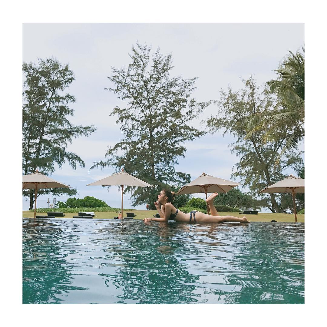 """Hoàng Yến Chibi đi bơi ngày càng """"bỏng mắt"""" - 11"""