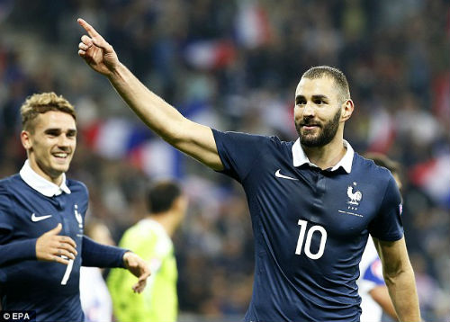 """Tin HOT bóng đá tối 1/3: Benzema được """"mở cửa"""" ở ĐT Pháp - 1"""