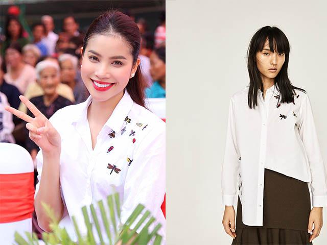 Sao Việt đẹp mướt mọng với áo quần vài trăm nghìn đồng - 5