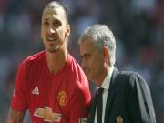 """Bóng đá - MU & mộng """"ăn 3"""": Thành bại tại Mourinho, Ibrahimovic"""