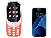"""""""Choáng"""" Nokia 3310 mới chụp ảnh đẹp hơn Samsung Galaxy S7"""