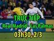 TRỰC TIẾP bóng đá Real Madrid - Las Palmas: Morata hiệu quả ăn đứt Ronaldo