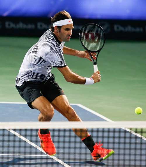 Federer – Donskoy: Kịch bản khó tin (Vòng 2 Dubai) - 1