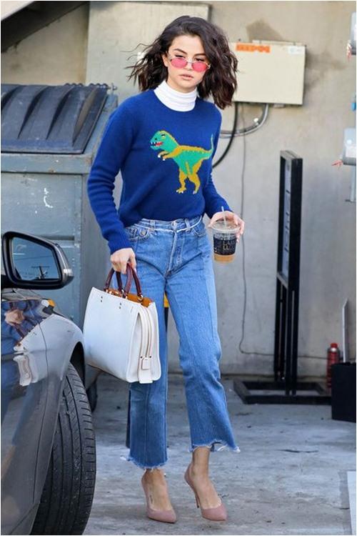 """8 cách """"mix""""siêu đẹp chỉ với chiếc quần jeans quen thuộc - 10"""