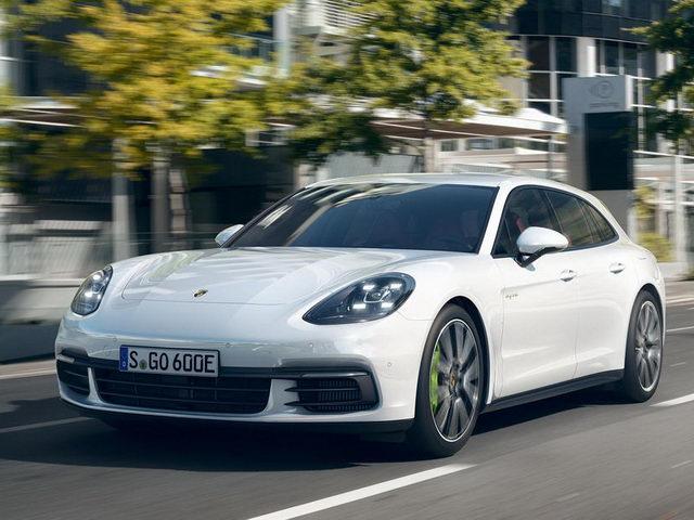 Porsche giới thiệu Panamera Sport Turismo lạ lẫm - 1