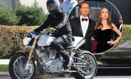 """Soi môtô giá 6,8 tỷ đồng của tài tử """"Ông bà Smith"""" - 1"""